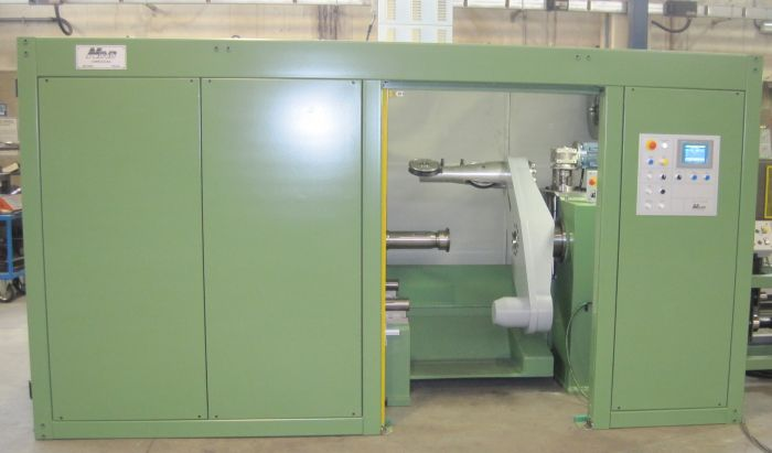 Single twist machine with shaft dia. 400-1600 mm