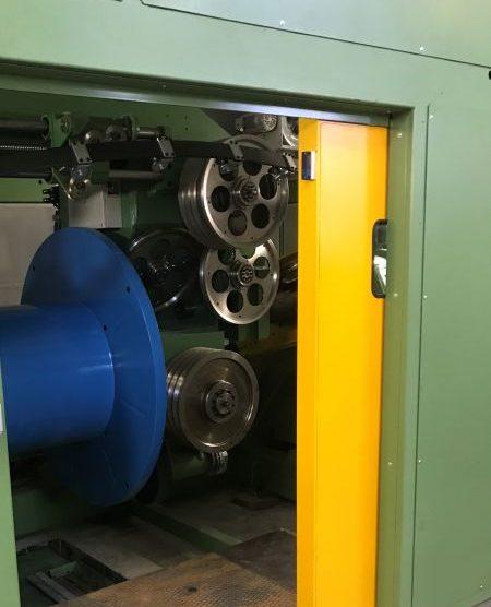 Double twist stranding machine with capstan 1000-2500 mm