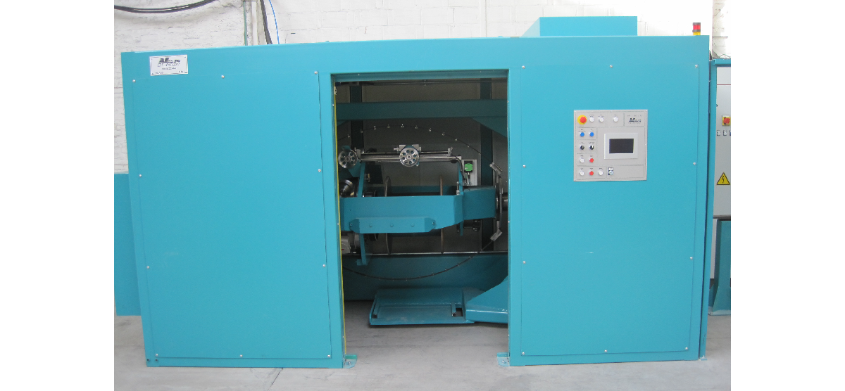 Double twist bunching machine with capstans 400-800 mm