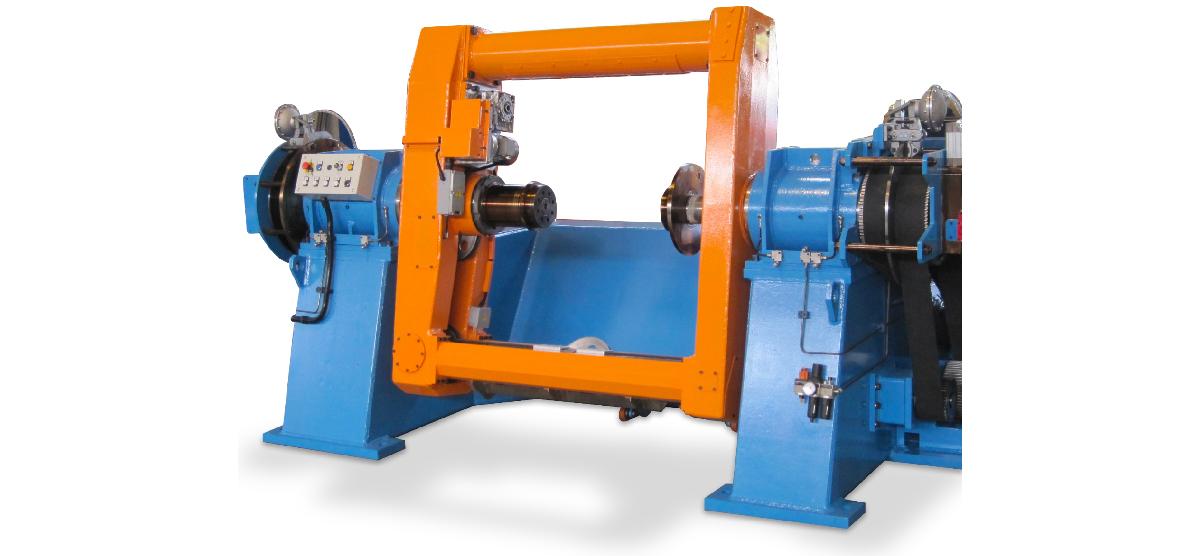 Single twist machine with pintles dia. 1000-2500 mm