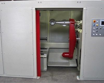 Single twist machine with shaft dia. 400-1600 mm